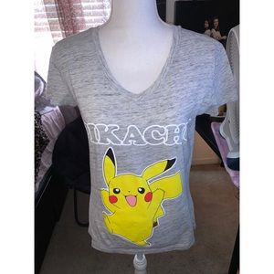 Gray Pikachu Tee